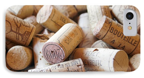 French Wine Corks IPhone Case by Georgia Fowler