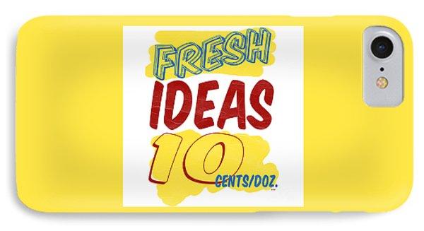 Fresh Ideas IPhone Case by Edward Fielding