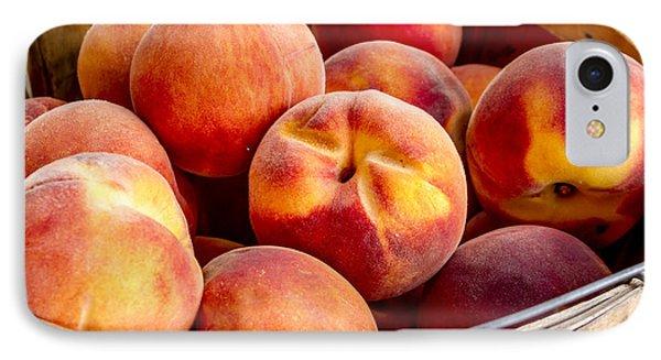 Fresh Peaches IPhone Case by Teri Virbickis