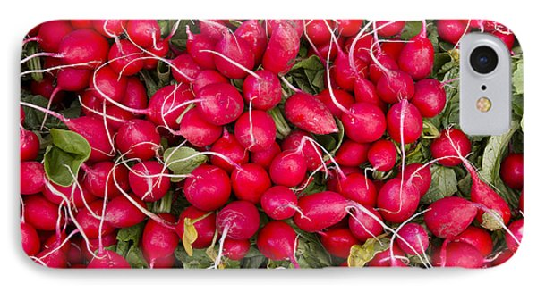 Fresh Red Radishes Phone Case by John Trax