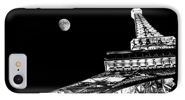 From Paris With Love IPhone Case by Az Jackson