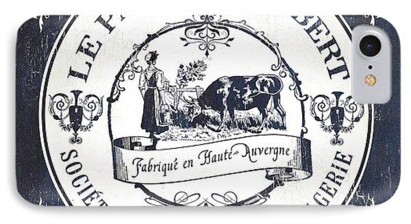 Fromage Label 1 IPhone Case by Debbie DeWitt