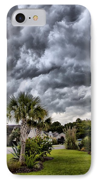 Frontal Clouds Phone Case by Dustin K Ryan