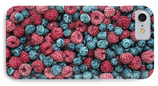 Frozen Berries IPhone 7 Case by Tim Gainey