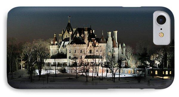 Frozen Boldt Castle IPhone 7 Case by Lori Deiter
