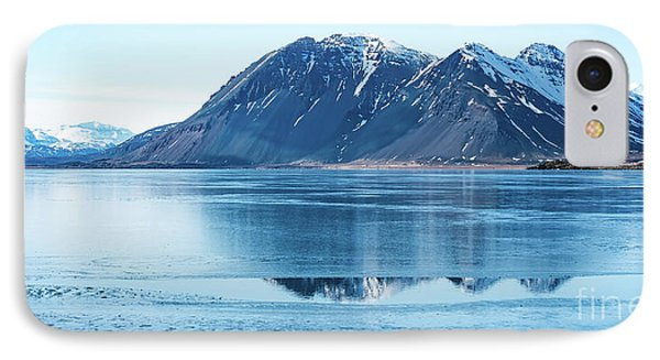 Frozen Lake IPhone Case by Svetlana Sewell