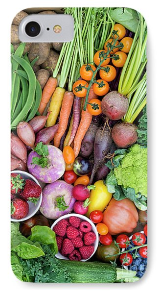 Fruit And Veg IPhone Case by Tim Gainey