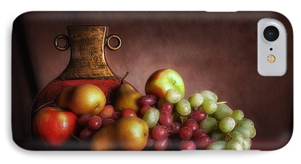 Fruit With Vase IPhone 7 Case by Tom Mc Nemar
