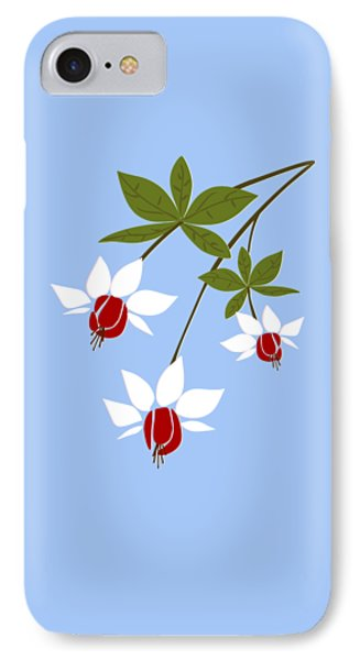 Fuchsia IPhone Case by Anastasiya Malakhova