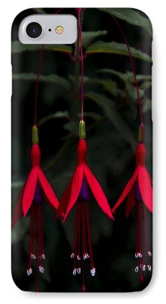 Fuchsia Bloom Phone Case by Svetlana Sewell