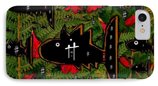 Fugi Sashi In The Deep Sea Of Japan Phone Case by Pepita Selles