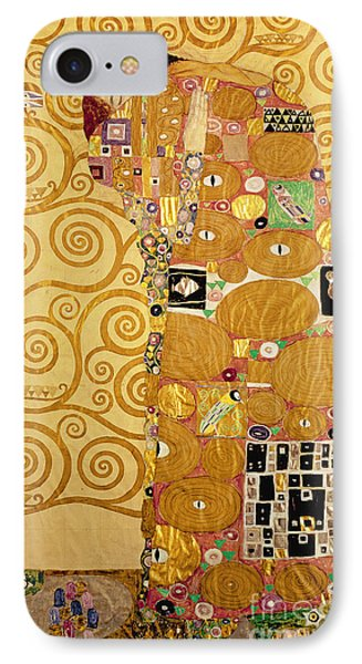 Fulfilment Stoclet Frieze IPhone Case by Gustav Klimt