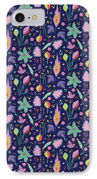 Fun In The Garden IPhone 7 Case by Elizabeth Tuck