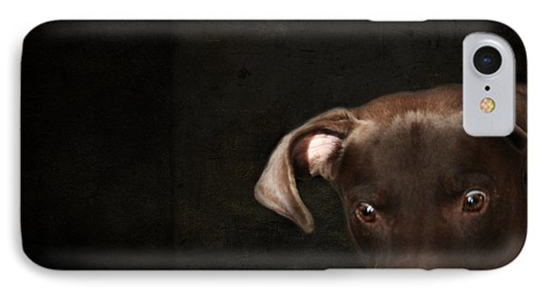 Funny Dog 1 IPhone Case by Heike Hultsch