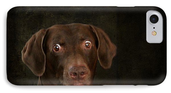 Funny Dog 4 IPhone Case by Heike Hultsch