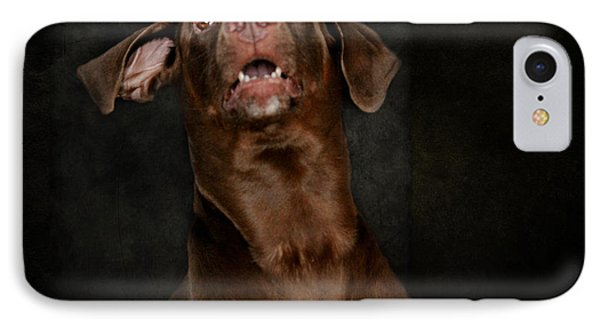 Funny Dog IPhone Case by Heike Hultsch