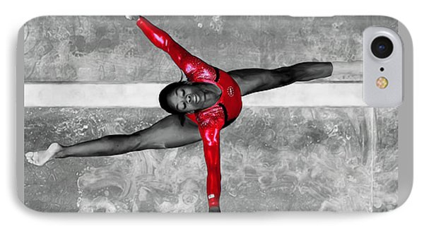 Gabby Douglas IPhone Case by Brian Reaves