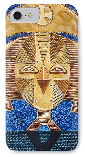Gabon Mask - A Multi-cultural Celebration Phone Case by John Keaton