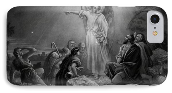Gabriel Announcing The Birth Of Jesus IPhone Case by War Is Hell Store
