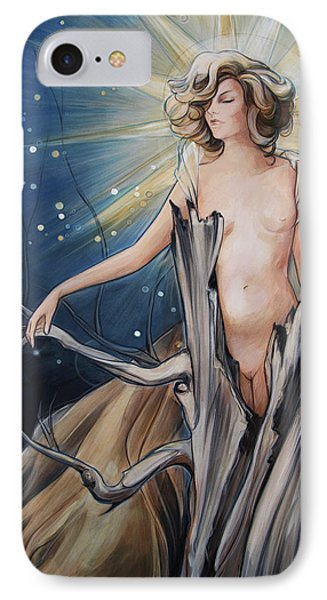 Gaia IPhone Case by Jacque Hudson