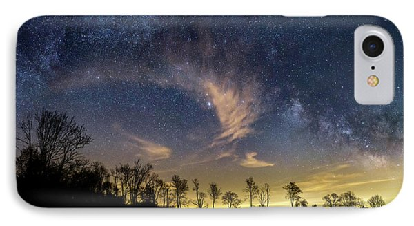 Galactic Skies IPhone Case by Bill Wakeley
