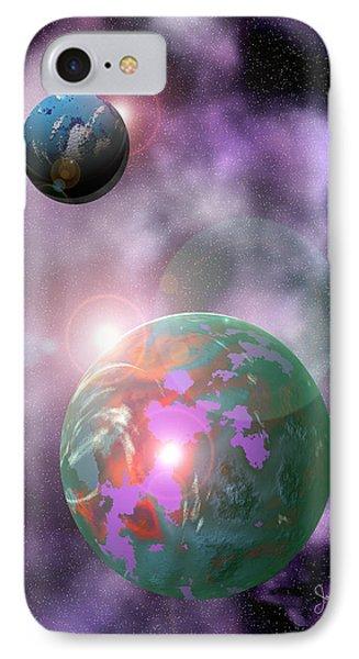 Galaxy 1 Phone Case by John Keaton