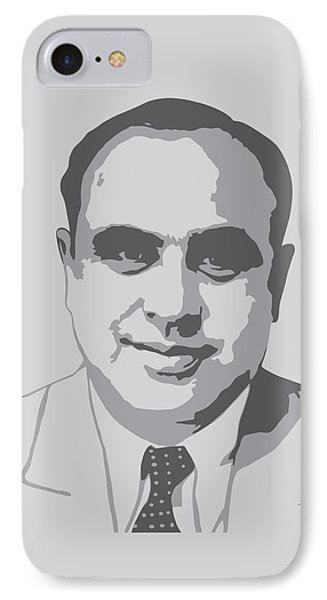 Gangster - Al Capone IPhone Case by War Is Hell Store