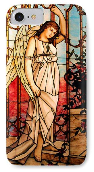 Garden Angel Phone Case by Kristin Elmquist