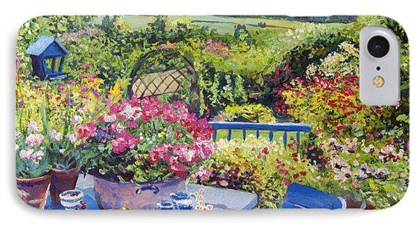 Garden Country IPhone Case by David Lloyd Glover