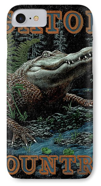 Gator Country IPhone 7 Case by JQ Licensing