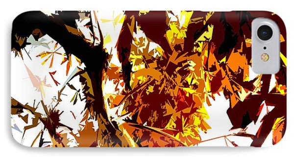 Gazing Into The Autumn Trees Phone Case by Patrick J Murphy
