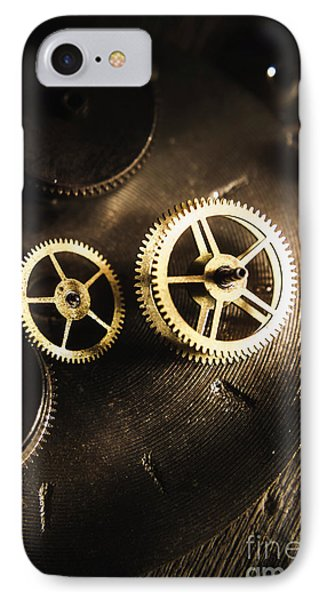 Gears Of Automation IPhone Case by Jorgo Photography - Wall Art Gallery