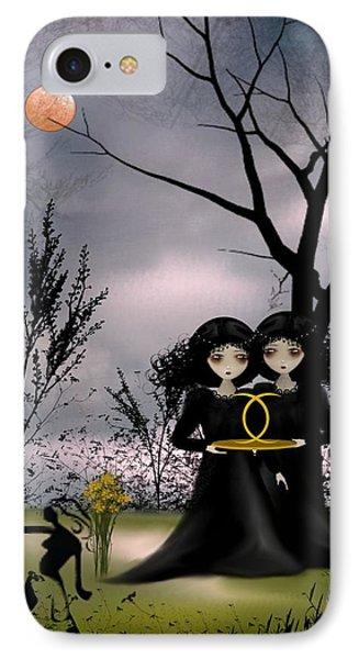 Gemini Phone Case by Charlene Zatloukal