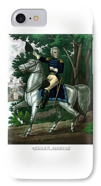 General Andrew Jackson On Horseback Phone Case by War Is Hell Store