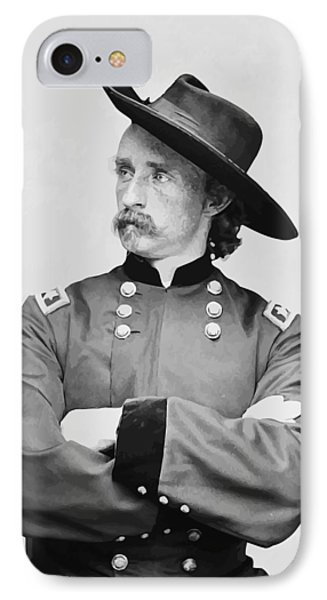 General Custer IPhone Case by War Is Hell Store