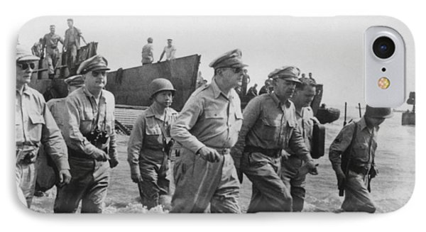 General Douglas Macarthur Returns IPhone Case by War Is Hell Store
