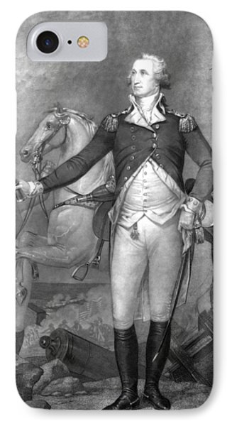 General George Washington At Trenton IPhone Case by War Is Hell Store