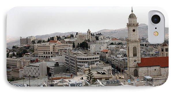 General View Of Bethlehem 2009 Phone Case by Munir Alawi