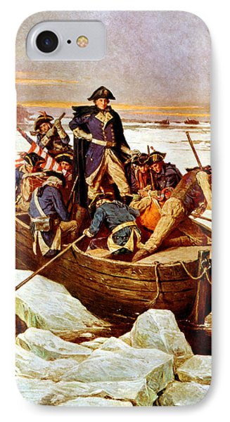 General Washington Crossing The Delaware River IPhone 7 Case by War Is Hell Store