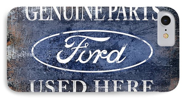 Genuine Ford Parts IPhone Case by Mark Rogan