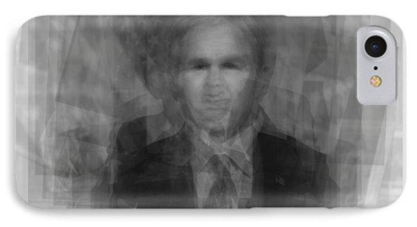 George W. Bush IPhone 7 Case by Steve Socha