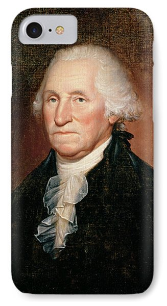 George Washington  IPhone Case by Rembrandt Peale