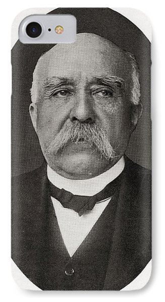 Georges Benjamin Clemenceau, 1841 IPhone Case by Vintage Design Pics