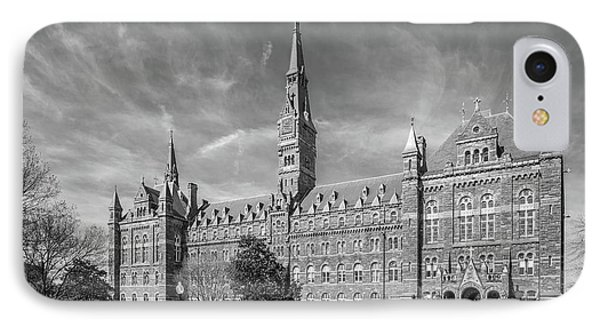 Georgetown University Healy Hall IPhone Case by University Icons