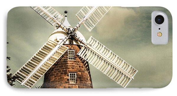 Georgian Stone Windmill  IPhone Case by Jorgo Photography - Wall Art Gallery