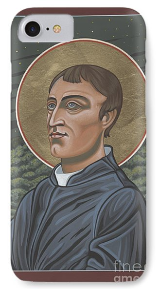 Gerard Manley Hopkins Amidst The Firefolk 215 IPhone Case by William Hart McNichols