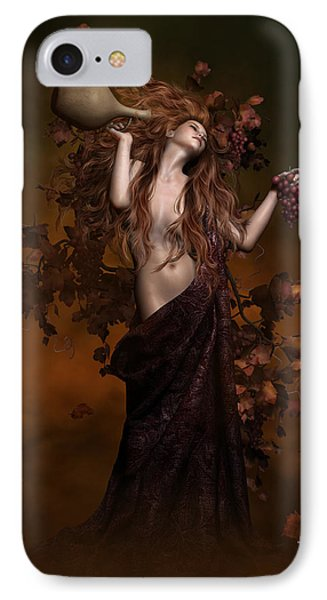 Geshtinanna Goddess Of Grape Vine IPhone Case by Shanina Conway
