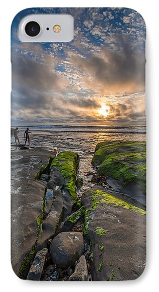 Getting Your Feet Wet IPhone Case by Peter Tellone