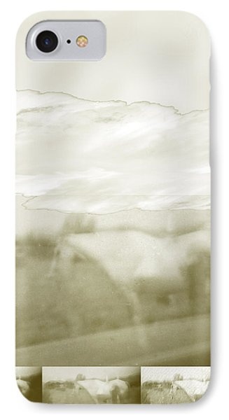 Ghost Horse Colorado Phone Case by Ann Tracy