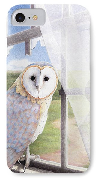 Ghost In The Attic IPhone 7 Case by Amy S Turner